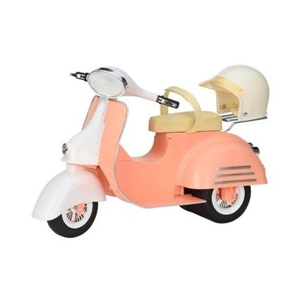 Купить Транспорт для кукол Our Generation Скутер бежевый (BD37361Z)