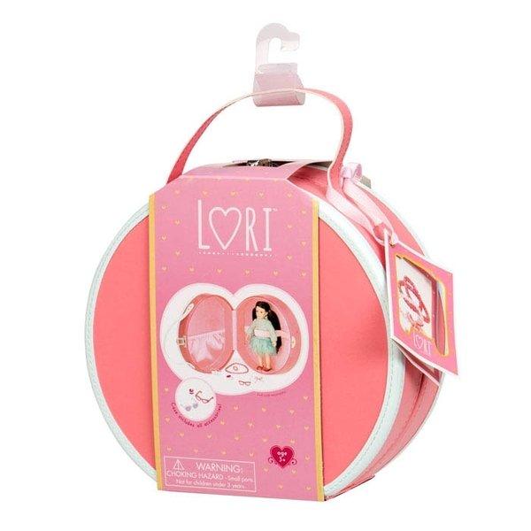 Кейс для кукол LORI DELUXE с аксесуарами коралловый (LO37008)  - купить со скидкой
