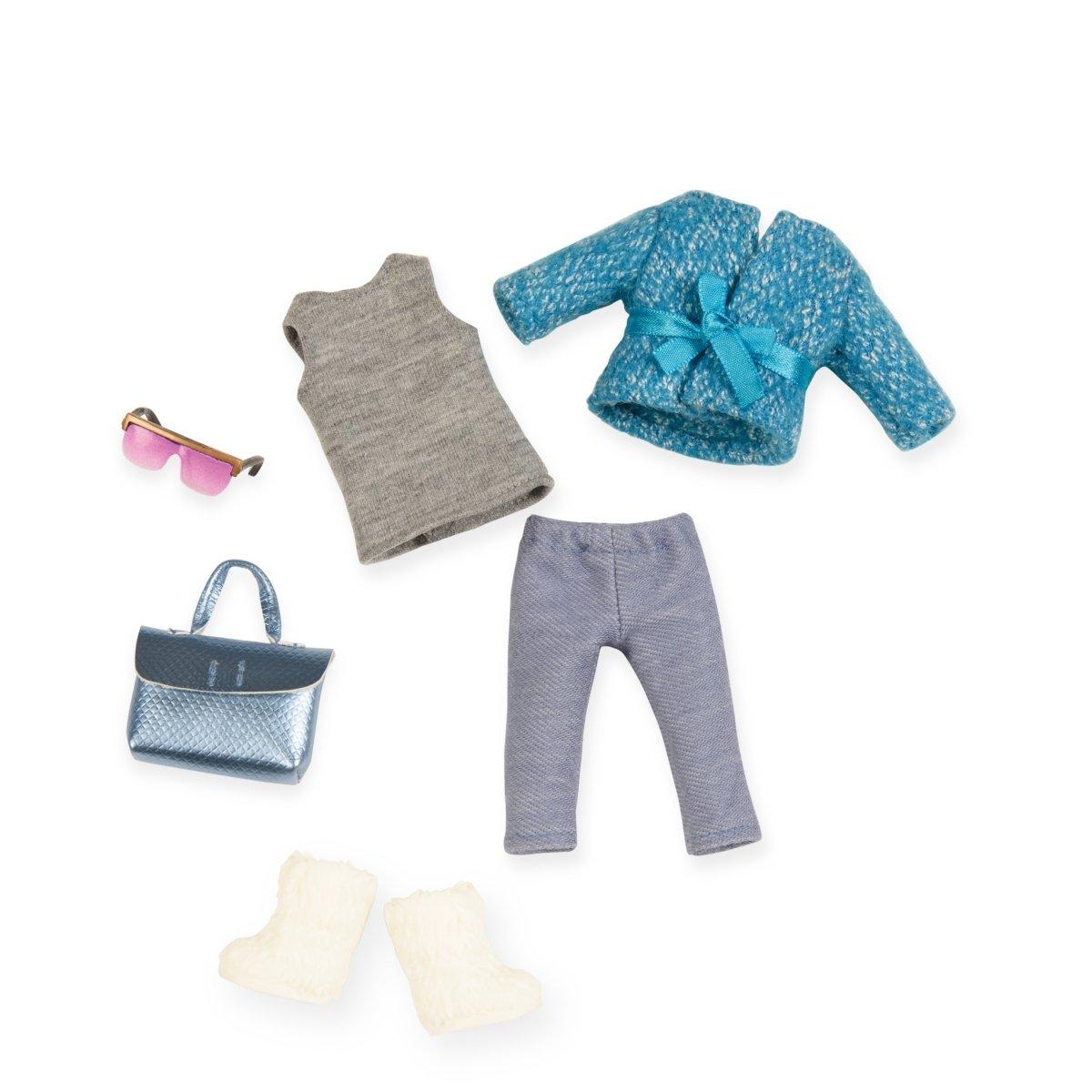 ≡ Набор одежды для кукол LORI голубое пальто (LO30005Z) – купить в ... 92e050cb16224