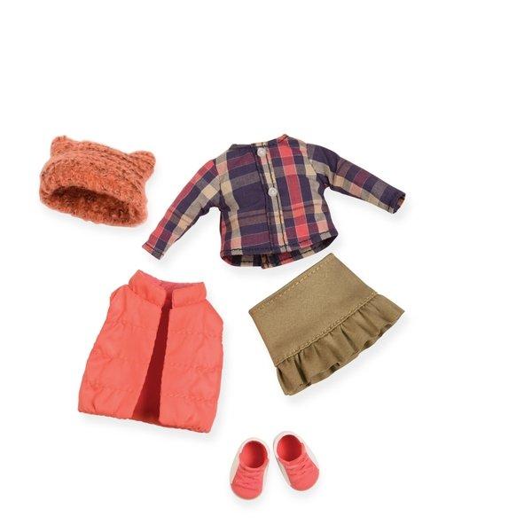Набор одежды для кукол LORI пуховой жилет (LO30004Z)  - купить со скидкой