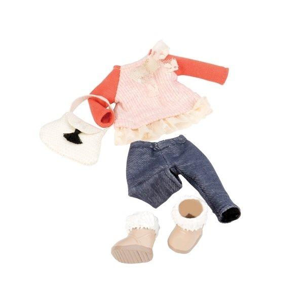 Купить Набор одежды для кукол LORI с кружевами (LO30002Z)