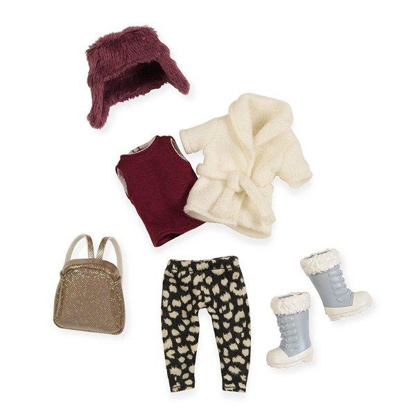 Набор одежды для кукол LORI Теплый жакет с шапкой (LO30006Z)  - купить со скидкой