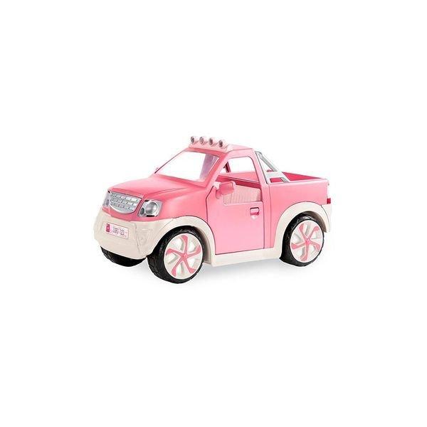 Купить Транспорт для кукол Lori Джип розовый с FM радио (LO37033ZZ)
