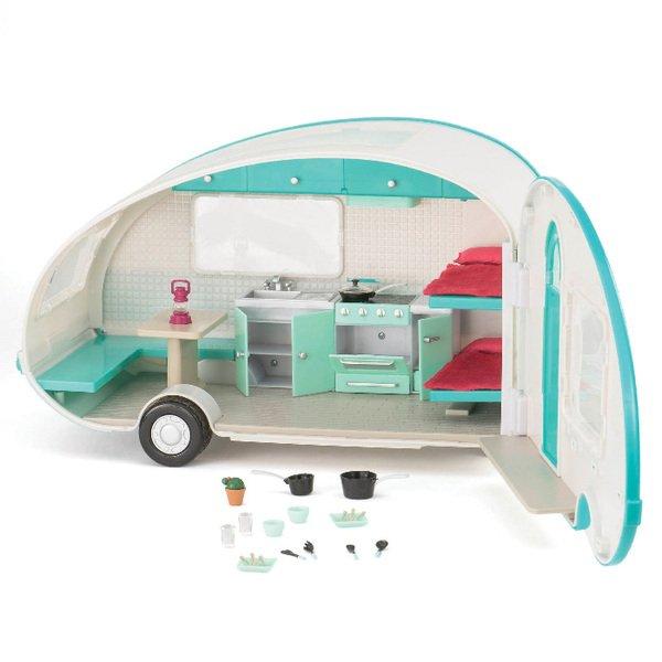 Транспорт для кукол LORI Кемпер на колесах (LO37001)  - купить со скидкой