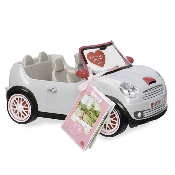 Купить Транспорт для кукол LORI Машина белая (LO37002Z)