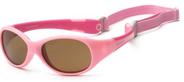 fc5661b29e8d Детские солнцезащитные очки Koolsun Flex розовые (Размер 3+) (KS-FLPS003)