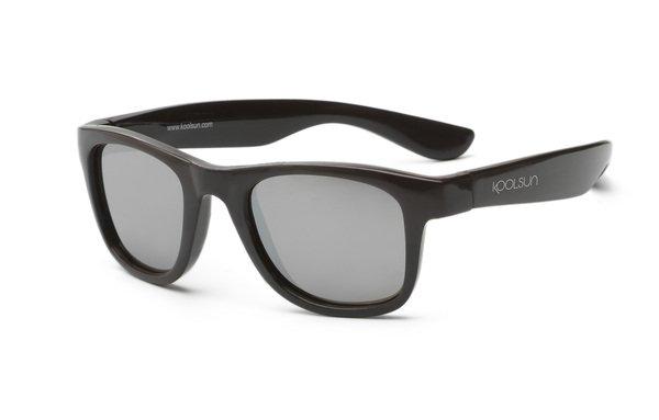 Детские солнцезащитные очки Koolsun Wawe черные (Размер 1+) (KS-WABO001)  - купить со скидкой