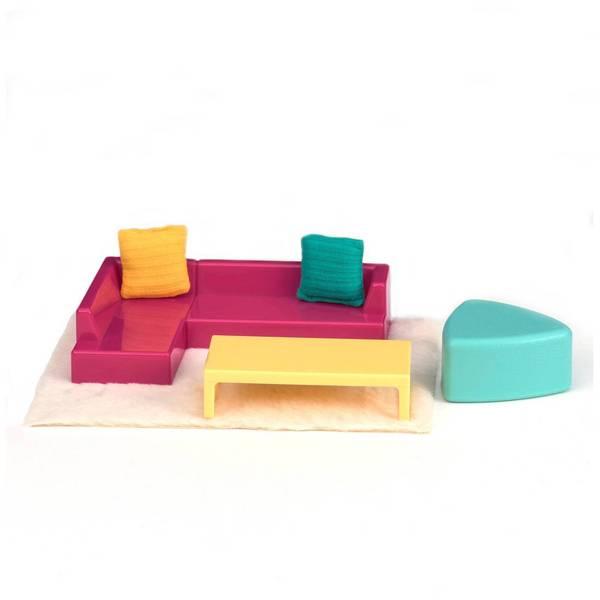 Набор для кукол LORI Мебель для гостиной (LO37012Z)  - купить со скидкой
