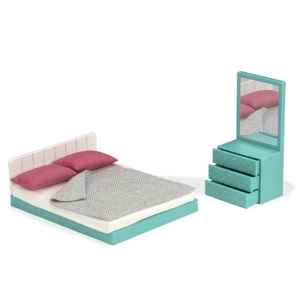 Купить Набор для кукол LORI Мебель для спальни (LO37013Z)