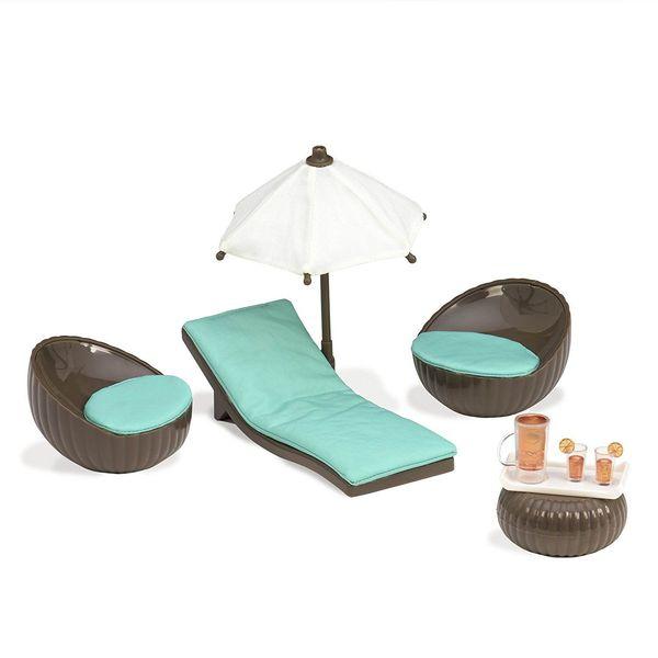 Купить Набор для кукол LORI Мебель для террасы (LO37005Z)