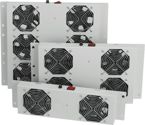Купить Вент. панель MIRSAN 1 вент., термостат в компл. RAL 7035 (MR.FAN1WT.02)