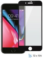 Стекло 2E iPhone Plus 7/8 2.5D black color border/Full glue