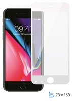 Стекло 2E iPhone Plus 7/8 3D black color border/Full glue