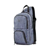 Рюкзак-слинг Wenger Console Cross Body Bag серо-синий (605031)