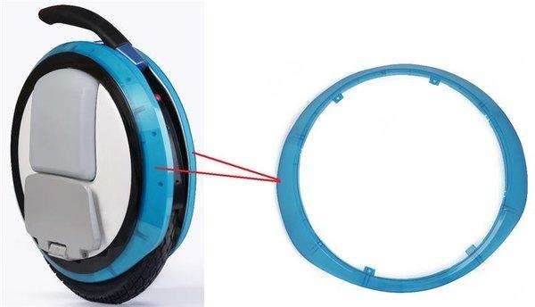 Купить Декоративная прозрачная накладка для моноколес Ninebot by Segway ONE E + Blue (10.01.2013.07)