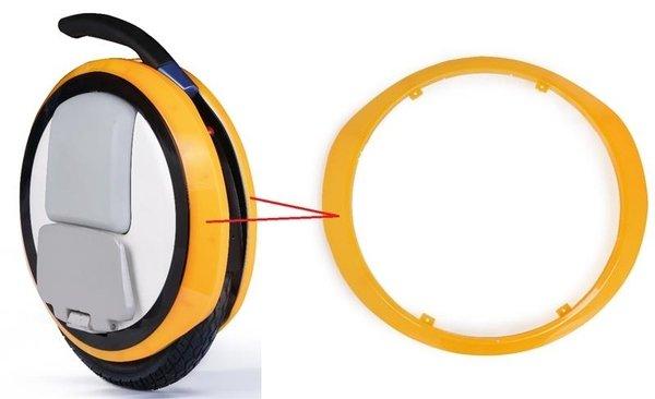 Купить Декоративная прозрачная накладка для моноколес Ninebot by Segway ONE E + Orange (10.01.2014.04)