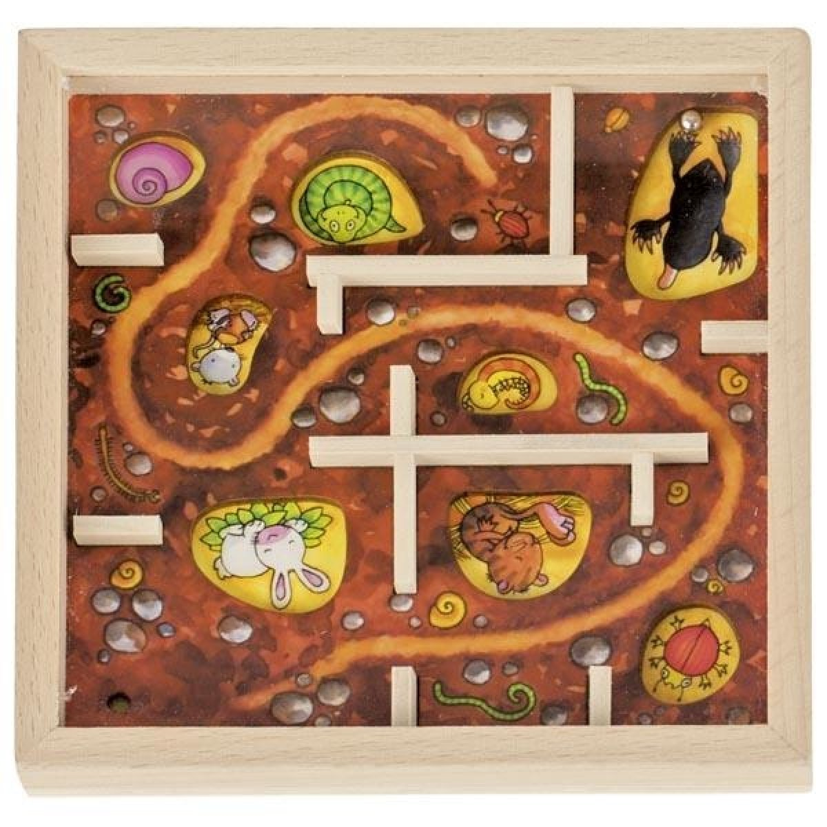 Игра goki Лабиринт. Крот ( 56878G-2) фото