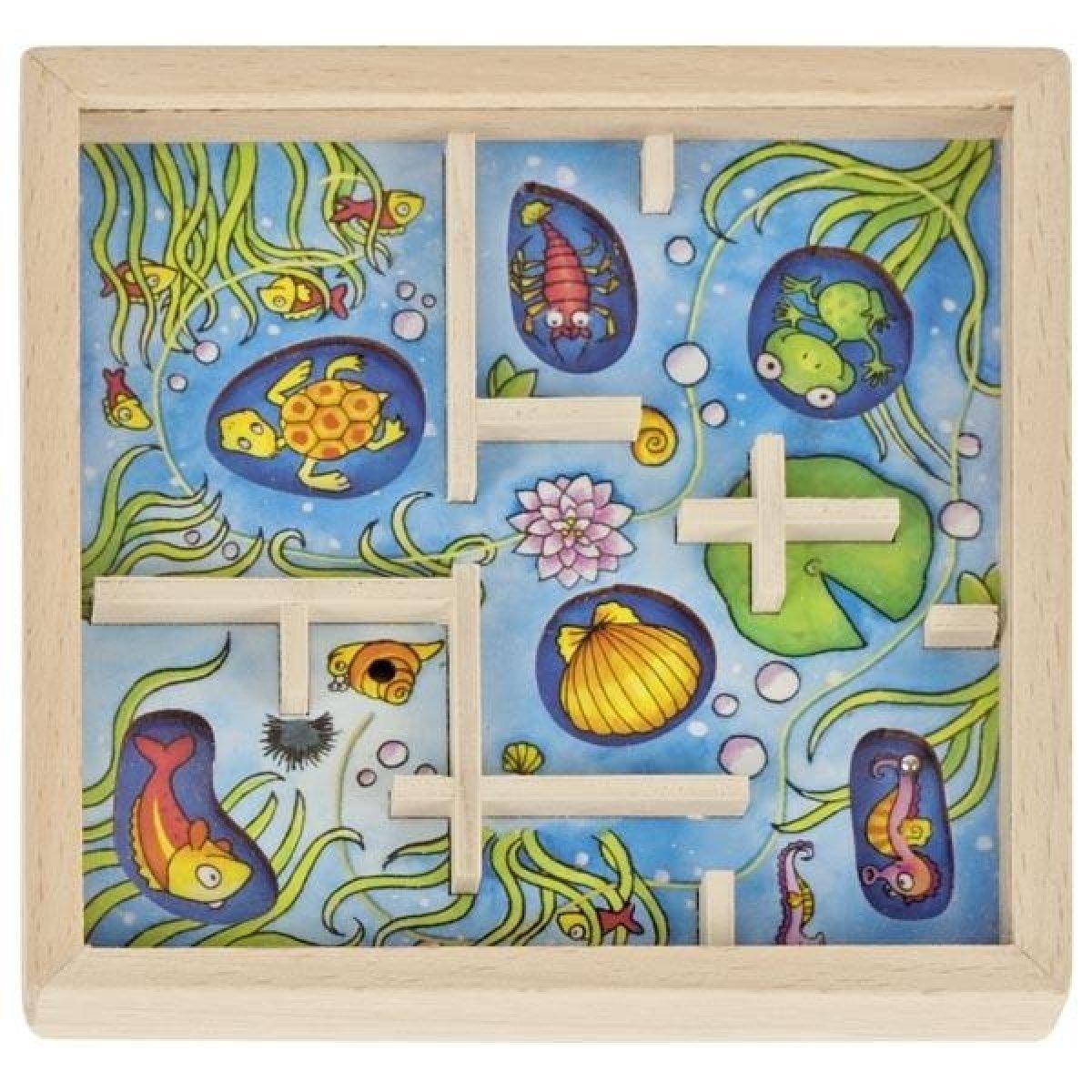Игра goki Лабиринт. Подводный мир ( 56878G-1) фото