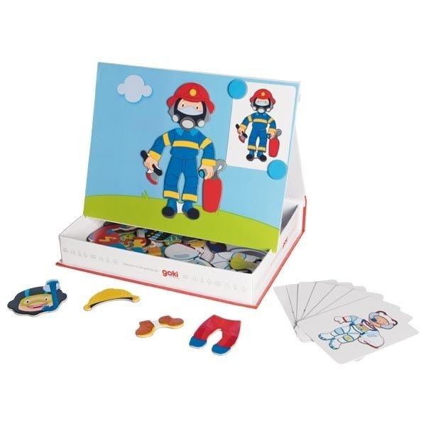 Купить Магнитная книга goki Наряды для мальчика ( 58741G)