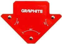 Магнитный сварочный угольник VERTO GRAPHITE 56H901