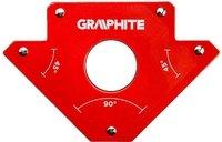 Магнитный сварочный угольник VERTO GRAPHITE 56H903