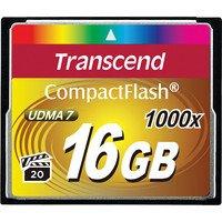 Карта памяти TRANSCEND CF 16GB 1000X R160/W120 MB/s (TS16GCF1000)
