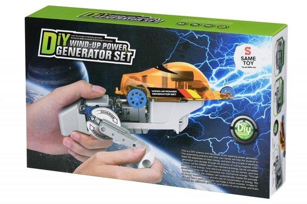 Купить Робот-конструктор Same Toy Авто на динамо-машине (DIY006UT)