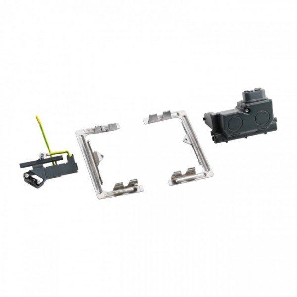 Купить Опции к пассивному сетевому оборудованию, Выдвижной люк Legrand на 4 модуля, набор для монтажа DLP