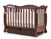 Детская кроватка Верес Соня ЛД-19 (Орех ящик + маятник) (19.1.62.1.03)