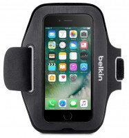 Чехол Belkin для iPhone 6/7/8/SE 2020, Slim-Fit Armband, black