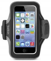 Чехол Belkin для iPhone 5 Slim-Fit Armband black-grey