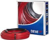 Теплый пол DEVI Flex двухжильный нагревательный кабель 18T, 935 Вт, 230V, 52 м (140F1243)