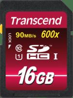 Карта памяти TRANSCEND SDHC 16GB Class 10 Ultimate UHS-I U1 R90/W45 MB/s (TS16GSDHC10U1)