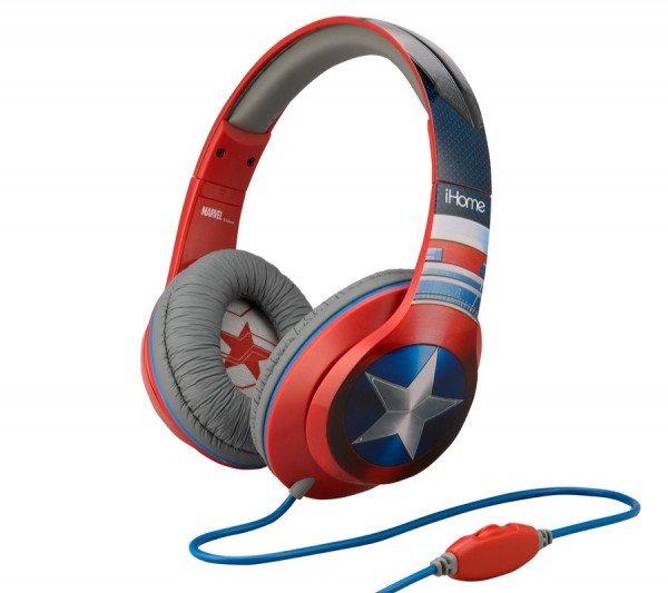 Купить Наушники eKids/iHome MARVEL Captain America Mic