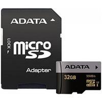 Карта памяти Adata microSDHC 32GB Class 10 UHS-I U3 + SD-адаптер