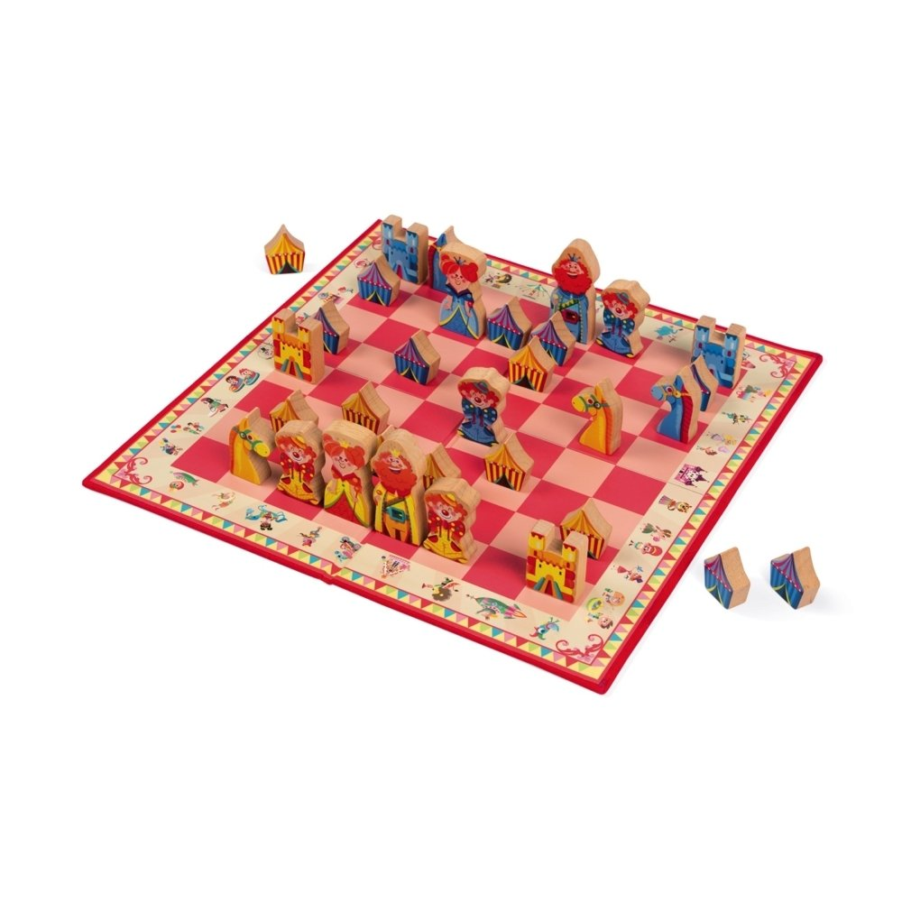 Настольная игра Janod Шахматы (J02745) фото 1