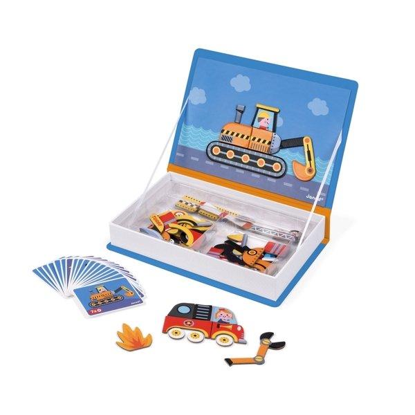 Купить Магнитная книга Janod Транспорт (J02715)