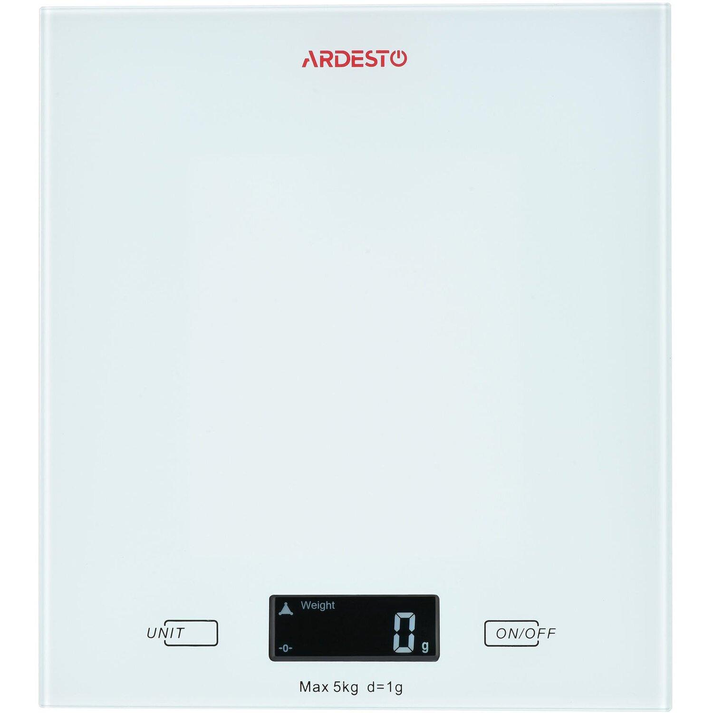 Весы кухонные Ardesto белые (SCK-893W) фото 1