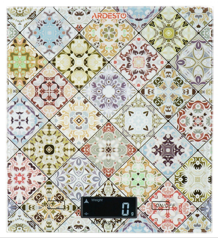 Весы кухонные Ardesto разноцветные (SCK-893) фото 1