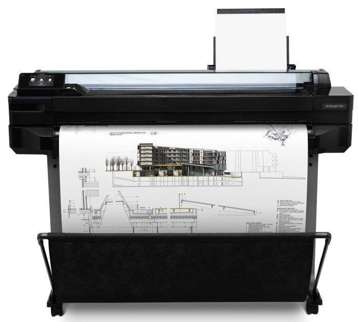 Плоттер HP Designjet T520 36-in ePrinter w/o stand фото