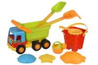 Набор для игры с песком Same Toy 9 единиц самосвал (943UT)