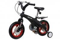 Детский велосипед Miqilong GN Черный 12 (MQL-GN12-BLACK)
