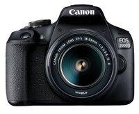 Фотоаппарат CANON EOS 2000D 18-55 IS II + сумка SB130 + карта памяти SD16GB (2728C015)