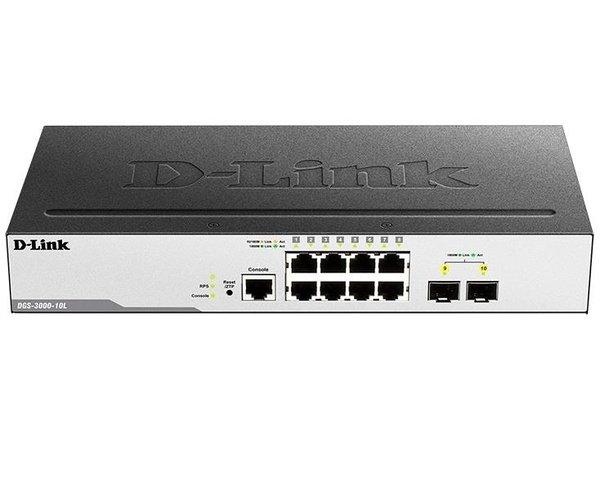 Купить КоммутаторD-LinkDGS-3000-10L (DGS-3000-10L)