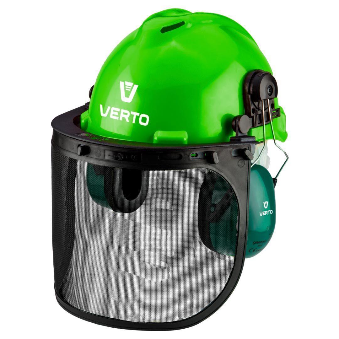 Щиток захисний VERTO для особи з навушниками і каскою 3 в 1 97H300 фото
