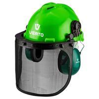 Щиток защитный VERTO для лица с наушниками и каской 3 в 1 97H300
