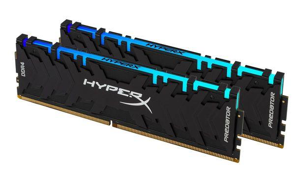 Купить Память для ПК Kingston DDR4 3200 16GB (2x8GB) HyperX Predator RGB (HX432C16PB3AK2/16)