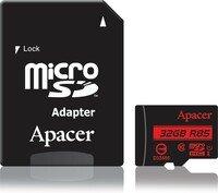 Карта памяти Apacer microSDHC 32GB Class 10 UHS-I R85MB/s + SD-адаптер