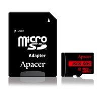 Карта памяти Apacer microSDHC 16GB Class 10 UHS-I R85MB/s + SD-адаптер