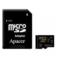 Карта памяти Apacer microSDXC 64GB Class 10 UHS-I + SD-адаптер